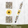 Sunflower Pen Wraps