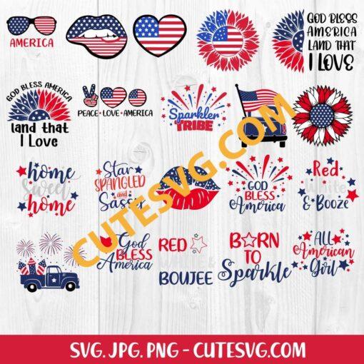 4th of July SVG Bundle