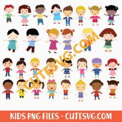 Kid Children Clipart PNG