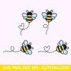 Cute Honey bee svg file