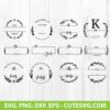 Family Last Name Sign SVG Cut File