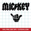 Rock and Roll Mickey Mouse SVG