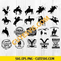 Yellowstone SVG Cut File
