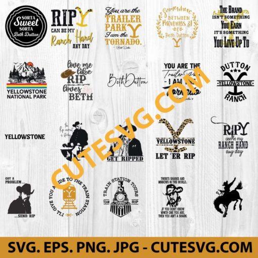 Yellowstone Bundle SVG