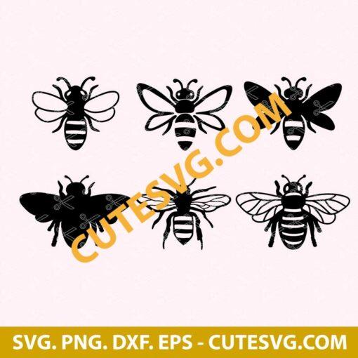 Cute Bee Svg bundle