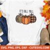 Buffalo Plaid Pumpkin Svg File