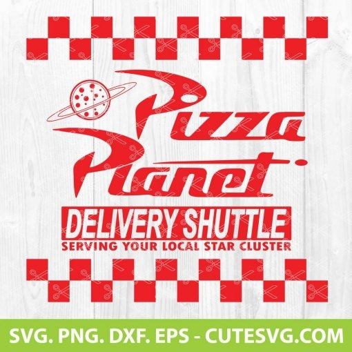 Pizza Planet SVG