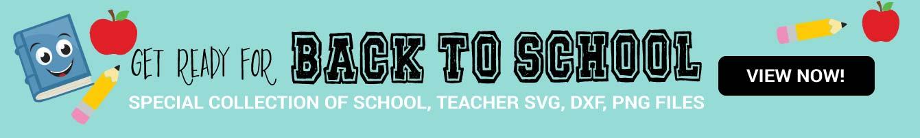 Back to school SVG collection - Cutesvg.com