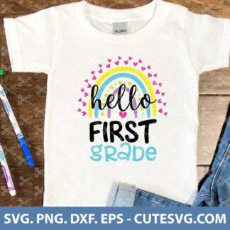 Hello First Grade SVG