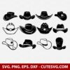 Cowboy hat svg