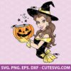 Belle Princess Halloween Svg