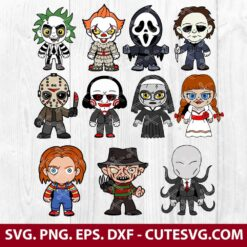 Horror Movie Svg Bundle