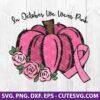 In October We Wear Pink SVG