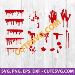 blood splatter svg