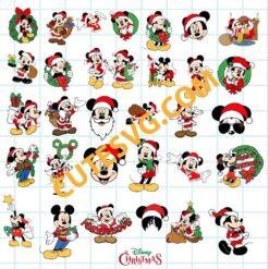 Mickey Christmas SVG