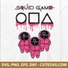Squid Game Soldier SVG
